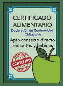Fontanería con Certificado Alimentario